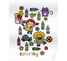 Coloring Poster