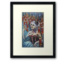 Cellar Of Blood Framed Print