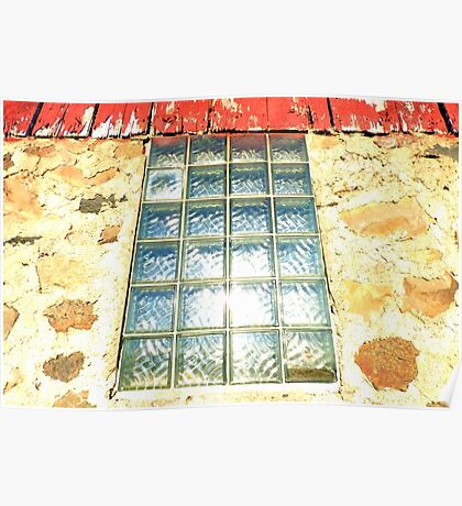 GLASS BLOCKS AND STONE 1912 Poster