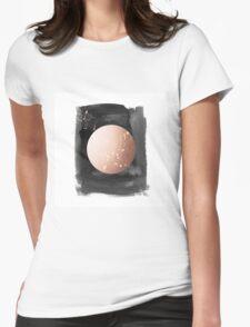 Full moon on dark night Womens Fitted T-Shirt