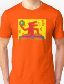 keith haring, keith, haring, graffiti, symbol, paris, trending, mann, dj, music. Unisex T-Shirt