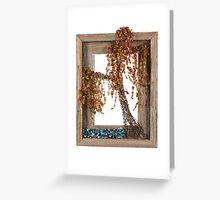 Autumn Willow Tree Greeting Card