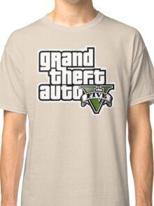 Gta V Logo Classic T-Shirt