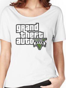 Gta V Logo Women's Relaxed Fit T-Shirt