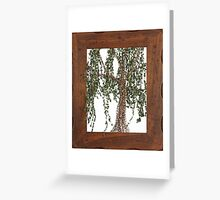 Full Summer Willow Greeting Card