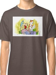 Adventure with Calvin & Hobbes Classic T-Shirt