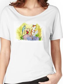 Adventure with Calvin & Hobbes Women's Relaxed Fit T-Shirt