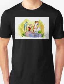 Adventure with Calvin & Hobbes Unisex T-Shirt