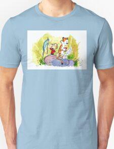 Adventure with Calvin & Hobbes T-Shirt