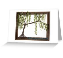 Spring Willow Tree Greeting Card