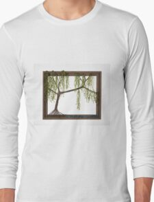 Spring Willow Tree Long Sleeve T-Shirt