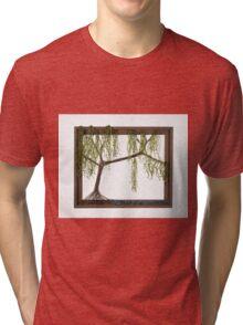 Spring Willow Tree Tri-blend T-Shirt