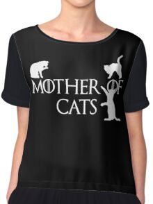 Game of thrones mother of cats Chiffon Top