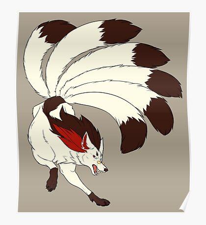 MSA Mystery Kitsune (canon design) Poster