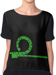 Resolution Time - Beastie Boys lyrics Chiffon Top