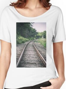 Country Railroad Track Women's Relaxed Fit T-Shirt