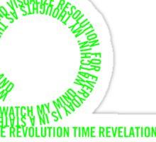 Resolution Time - Beastie Boys lyrics Sticker