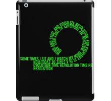 Resolution Time - Beastie Boys lyrics iPad Case/Skin
