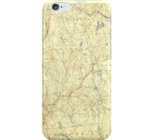 USGS TOPO Map Connecticut CT Gilead 331026 1892 62500 iPhone Case/Skin