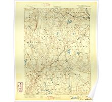 USGS TOPO Map Connecticut CT Gilead 331026 1892 62500 Poster
