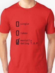 Mentally Dating TOP - BIGBANG Unisex T-Shirt
