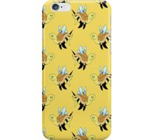 Bumble Bee Turtle Pattern iPhone Case/Skin