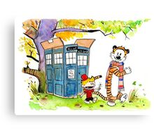 Adventure in Time & Space! Canvas Print