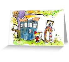 Adventure in Time & Space! Greeting Card