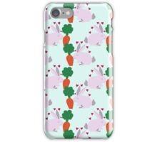 Bunny Carrot Pattern iPhone Case/Skin