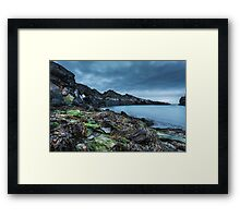 Seaweed and rocks - The Blue Lagoon Framed Print