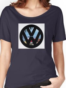 Volkswagen on the Beach Women's Relaxed Fit T-Shirt
