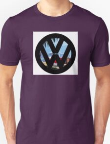Volkswagen on the Beach Unisex T-Shirt