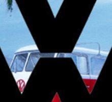 Volkswagen on the Beach Sticker