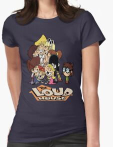 The Loud House Womens Fitted T-Shirt