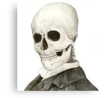 Tesla Skeleton Metal Print