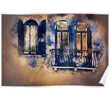 Magic windows, magic nights Poster
