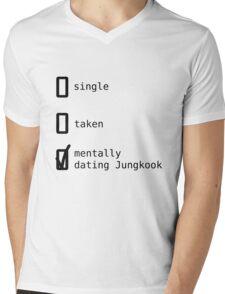 Mentally Dating Jungkook - BTS Mens V-Neck T-Shirt