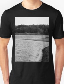 Lakeview Sequel - Black and White Unisex T-Shirt