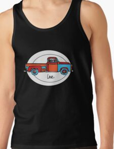 Love My Old Truck Tank Top