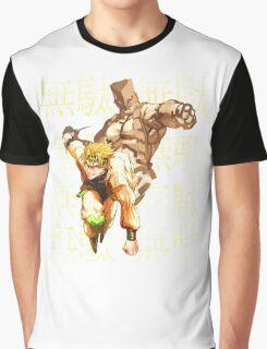 DIO Brando - JoJo's Bizarre Adventure Graphic T-Shirt