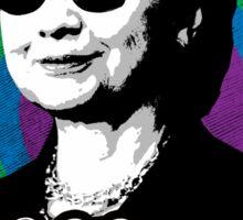 Rainbow Hillary Sticker