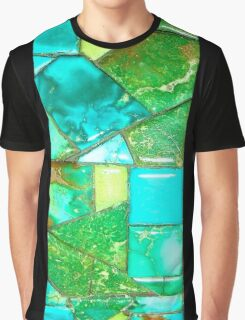 Vintage Turquoise iPhone / Samsung Galaxy Case Graphic T-Shirt