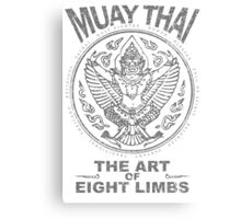 muay thai garuda sacred spirit of thailand the art of eight limbs Canvas Print