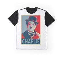 Charlie Chaplin Hope Graphic T-Shirt
