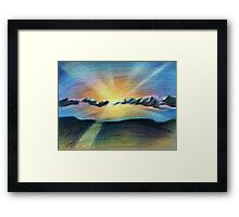 Time Slows to a Stop Framed Print