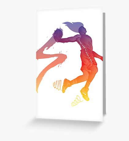 Player 01 Greeting Card
