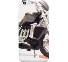 Chopper motorcycle kid model toy 2 iPhone Case/Skin