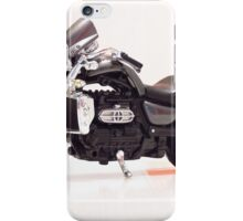 Chopper motorcycle kid model toy 3 iPhone Case/Skin