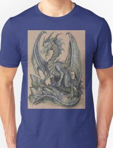 Awesome Dragon Drawing  T-Shirt