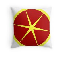 Grapefruit cute fruit food  Throw Pillow
